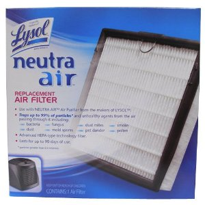 Lysol Neutra Air Air Purifier Filter Refill Set of 6