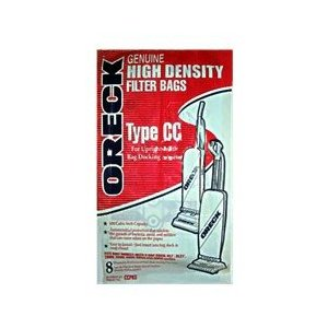 Oreck Genuine Hypo-Allergenic Celoc Filter Bags Huge Package of 8 These Are Original Oreck Bags, Not Generic Like the Others