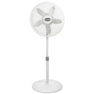 Lasko 1824 18-Inch AdjustablePedestal Fan