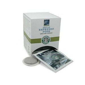 Starbucks Coffee Bold Decaffeinated Espresso Pods 24-pods