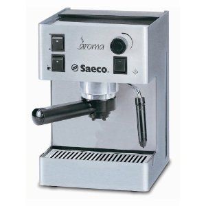 Saeco 30013 Aroma Traditional Espresso Machine, Stainless Steel