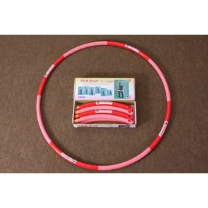 Weighted Sports Hula Hoop for Weight Loss - Trim Hoop P3 3 lbs. No Sponge, Box Package