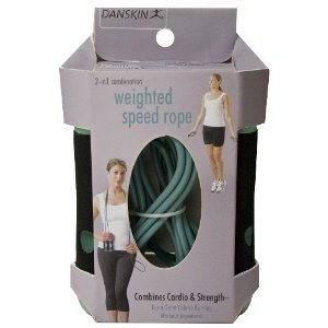 Danskin 2 in 1 Combination Weighted Jump Rope