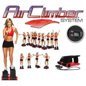 Air Climber As Seen on Tv w/ DVD
