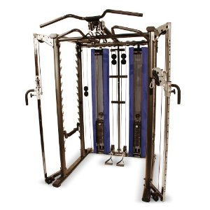 Inspire Power Rack with Weight Stacks and Pulley Option