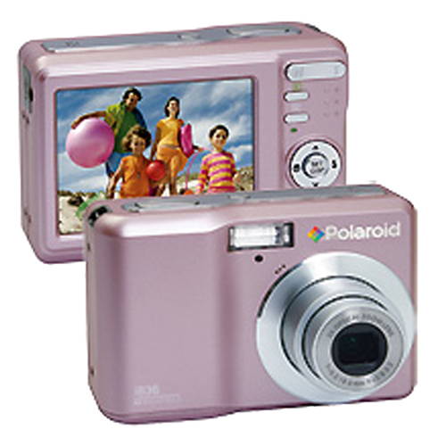 @ polaroid rb i836 pink original box aa