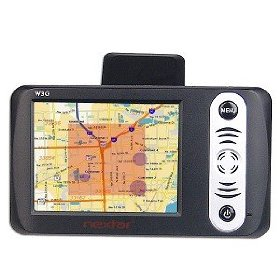 Nextar W3G 3.5-Inch LCD Color Touch Screen Portable GPS/MP3