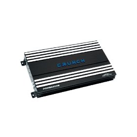 Crunch PowerZone P1000.1 1000 Maxx Watt Power A/B Class Mono Amplifier