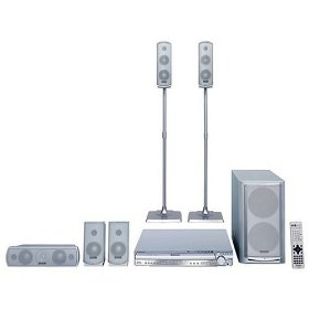 Remanufactured Panasonic SC-HT733 5-DVD Home Theater System with 750 Watts