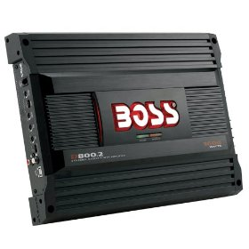 Boss Audio D800.2 Diablo 2-Channel Mosfet Bridgeable Power Amplifier