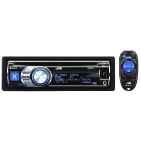 JVC KD-R800 30K Color-Illumination Single-DIN CD Receiver with Dual USB 2.0 for iPod/iPhone and Bluetooth