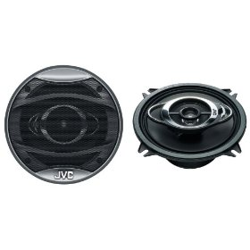 JVC In-Vehicle CSHX537X 5.25-Inch 3-Way Coaxial Speaker (Single, Black)