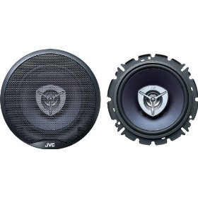 JVC CS-V625 6.5-Inch 2-Way Coaxial Speakers (Pair, Blue)