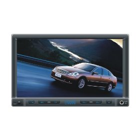 Phase Linear UV8020 MP3/WMA/USB/SD Card/DVD Receiver with 7 Inch Screen (Black)