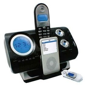 IPod Dockstation with Cordless Phone