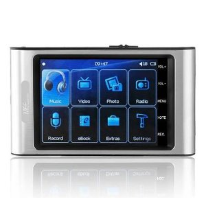 MEElectronics RockMee II 4 GB 3.0-Inch Wide Screen Portable Media Player
