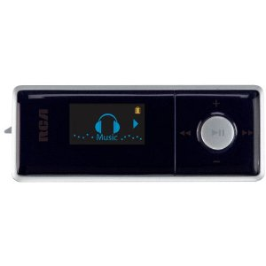 RCA Pearl 1 GB MP3 Player with FM Radio and Direct USB (Black)