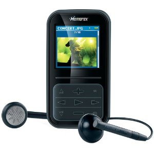 Memorex 8595 4GB MP3 Player - Black