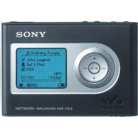 Sony NW-HD3 Network Walkman 20 GB Digital Music Player (Black)