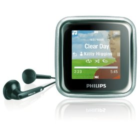 Philips SA2925R/37 2 GB Flash Audio Video MP3 Player with Month of Rhapsody Music (Black)
