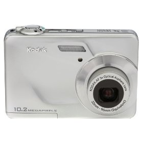 Kodak EasyShare C180 10MP Digital Camera with 3x Optical Zoom and 2.4 inch LCD (Silver)