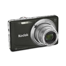 Kodak Easyshare M381 12.4MP Digital Camera with 5x Optical Zoom and 3-inch LCD (Black)
