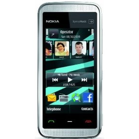 Nokia 5530 XpressMusic Unlocked Phone with Touchscreen--U.S. Version with Warranty (White)