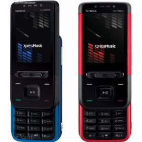 Nokia 5610 XpressMusic Red Quadband 3G Unlocked Phone