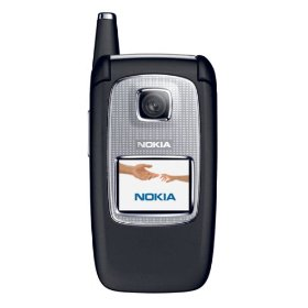 Nokia 6103 Unlocked Cell Phone with Camera--U.S. Version with Warranty (Black)