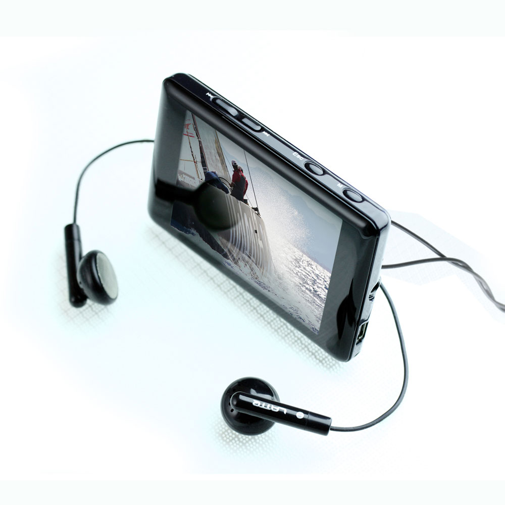 Latte ipearl lpipearl8gb black 2.8inch lcd fm mp3
