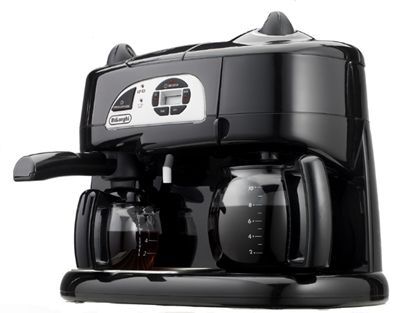 Delonghi bco130t black coffee espresso cappuccino machine