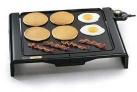 Presto 07050 griddle folding 1500w cool touch