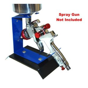 BENCHTOP SPRAY GUN STAND - SPRAYGUN HOLDER