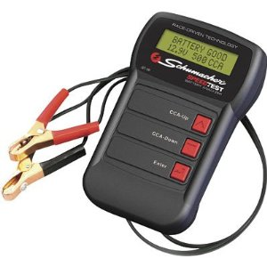 Schumacher Speed Test Conductance 12 Volt Battery Tester
