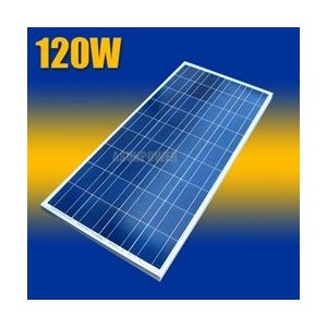 Asunpower 120 Watt 12 Volt Solar Panel UL Listed