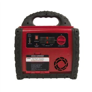 Wagan EL2355 200-Watt Power Dome Jumpstarter with Built-In Air Compressor and LED Utility Light