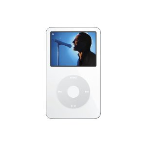 Apple iPod 30 GB Video White MA002LL/A (5th Generation) OLD MODEL