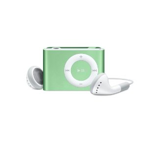 Apple iPod shuffle 1 GB Green (2nd Generation) OLD MODEL