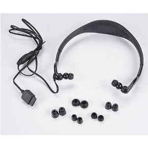 XM XMP3HP Headphone with Built-In Antenna for Pioneer XMP3 (Black)