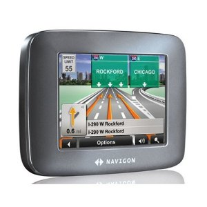 Navigon 5100 3.5-Inch Portable GPS Navigator with Text-to-Speech and Lifetime Traffic