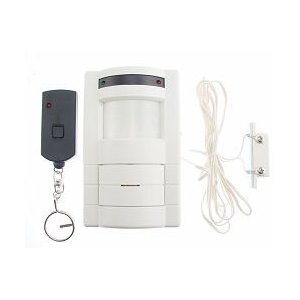 Wireless Motion Detector with Remote