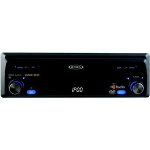 Jensen VM9312HD Multimedia Receiver with 7-Inch Touch Screen and HD Radio Tuner (Black)