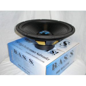 Acoustic Audio BASS15 Car Stereo Subwoofer 15 Inch 4 Ohm Sub Speaker