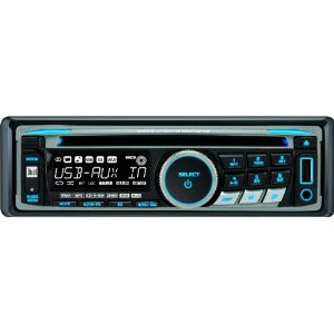 Daul XDM6350 AM/FM/CD Receiver with USB iPod Control and AUX Input