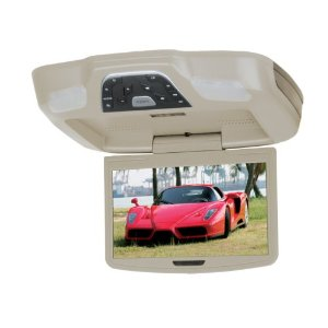Boss Audio BV8.5TA Flip-Down 8.5-Inch Widescreen TFT Monitor with Built-In DVD Player (Tan)