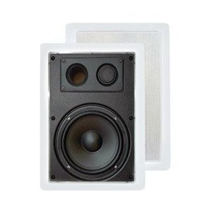 Pyle Home PDIW57 5-Inch Two-Way In-Wall Enclosed Speaker System with Directional Tweeter