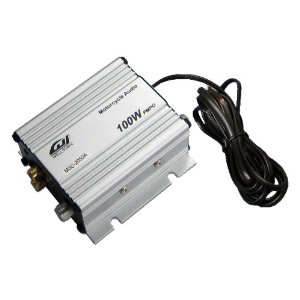 New! 100 watt motorcycle scooter marine amplifier loud