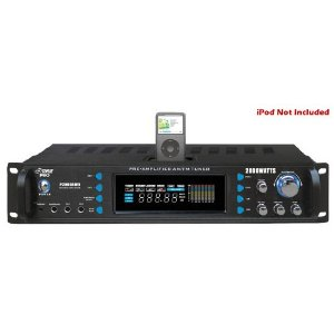 PYLE PRO 2000 WATT RECEIVER BLUETH/ IPOD