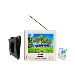 PYLE PLMRVW105 10.4-Inch TFT LCD Splash Proof Monitor with TV Tuner