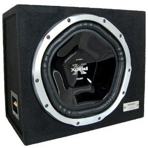 Sony - XS-LE121W - Enclosed Subwoofers